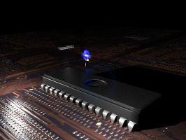 Microprocessor by HELLou