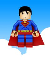 Lego Superman by ursus327