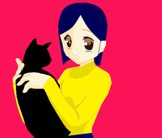 Coraline and the Cat 2 by Freddylover13