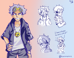 Guzma Stuff...... by ZackAmperez