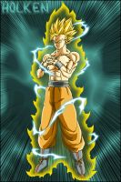 Son Goku ssj2 by DBZwarrior