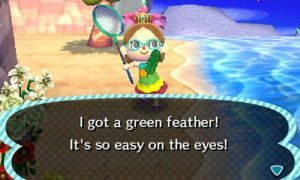 Green Festivale Feather by I-Am-The-New-L