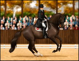 *Autumn Leaves Event Dressage Entry* by NimbyNimb