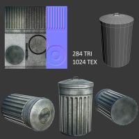 Trash Can by CubicalMember