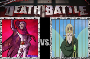 DEATH BATTLE Ghiraiham vs oberon by V1EWT1FUL
