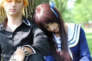 Fruits Basket #10: Tohru and Kyo - Lean On Me by AilesNoir