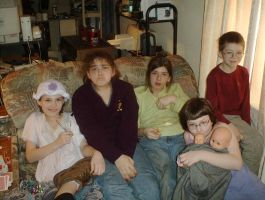 Me and my family a long time ago by Alianna013