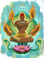 Dhalsim by jdjartist
