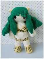 LUM 10 inch amigurumi by pirateluv