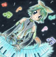 See the music - Rin Append by Hime-chama