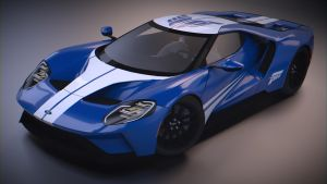Ford GT '17 Hotwheels by BFG-9KRC