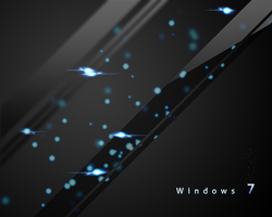 Windows 7 Glass Wallpaper by gearykid