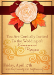 [OOS] A Wedding? A Wedding~! A Wedding Invitation! by EpicMickeyX