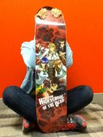 Highschool of the Dead Skateboard by artofJEPROX