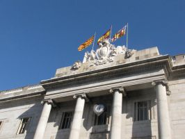 Barcelona Building by eillahwolf