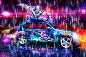 Silver Surfer Car by ctribeiro