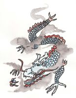 Chinese Dragon by momade