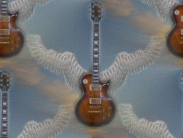 Angel Guitar background by pekauppi