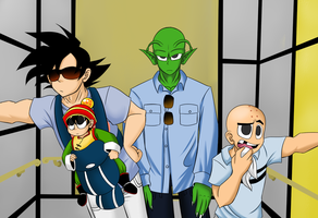 DBZ- The Hangover Parody by Sketched-UP