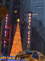 Christmas Tree in Time Square by Mike-The-Winner