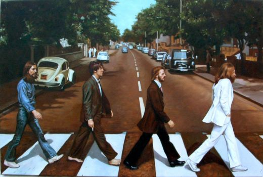 The Beatles Abbey Road by benw99