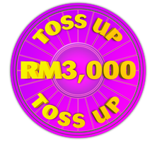 Wheel of Fortune - RM3,000 Toss Up Icon by darellnonis
