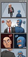 hitman and spy by biggreenpepper
