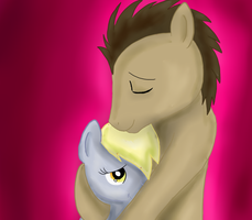 DR Whooves X Derpy Hooves by Muketti