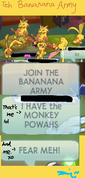AJ - Teh Bananana Army by LeviAJRoyale