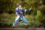 Korra cosplay - Ready to fight by the-mirror-melts