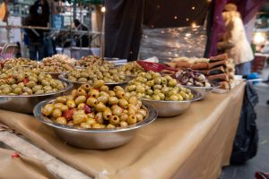 Olives at Spitalfields Mart by patchow