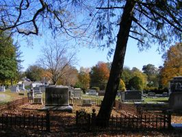Autumn Cemetery 07 by DKD-Stock