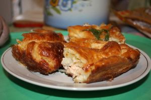 Baked salmon pastry by membrthetimewthe