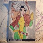 Quick Rogue Doodle by the-kid36