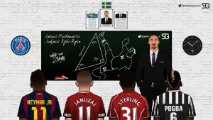 Zlatan Ibrahimovic - Veteran and Students by SanchezGraphic