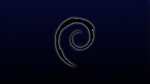 Debian Wallpaper - Blue by Tandyman100