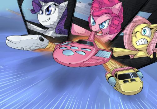 Launch Pinkie Machines by UC77