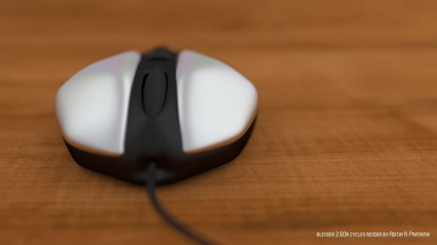 Just Another Mouse Render in Blender Cycles by aditpratama1