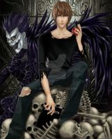 Death Note - I U S T I S I A by Nekozumi