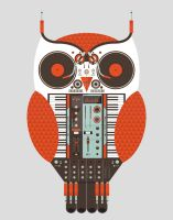 The Owl is a DJ by ExclusiveApe