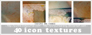 40 icon textures - one chance by yunyunsarang