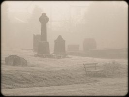 Cemetery Fog by RomancesSansParoles