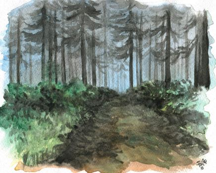 Into the Grove by polinaart1