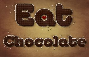 Eat Chocolate! by PokemonCookie