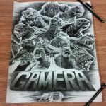 Gamera 50th Anniversary by Lenzations