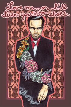 Moriarty Valentine's Day card by roryalice