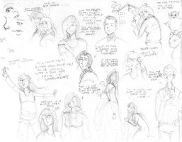 OCs and OS-tans and Lyrics by BellaCielo