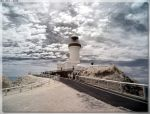 Cape Byron Lighthouse - InfraRed View by JohnK222