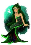 Homestuck: 3 am dress by mansly