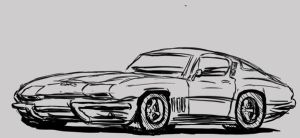 corvette stingray by mopar44o